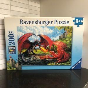 Ravensburger 200 pc Dualing Dragons puzzle